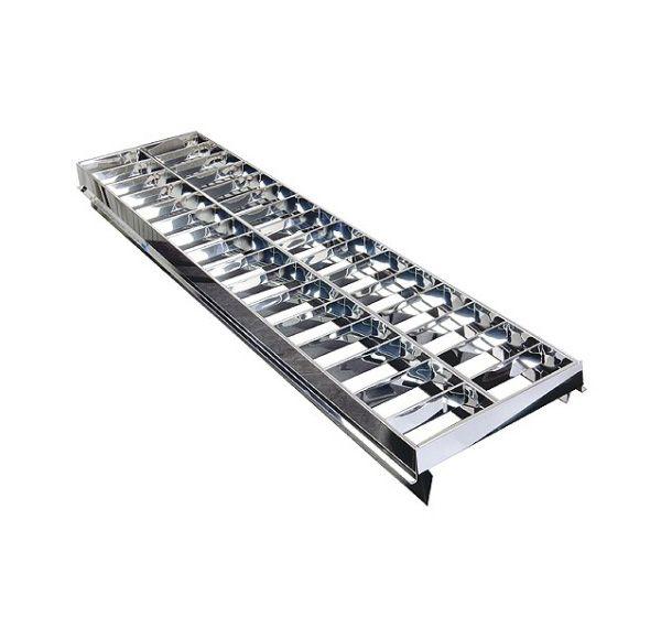 Darklight raster voor WORK LIGHT FLOOR, aluminium