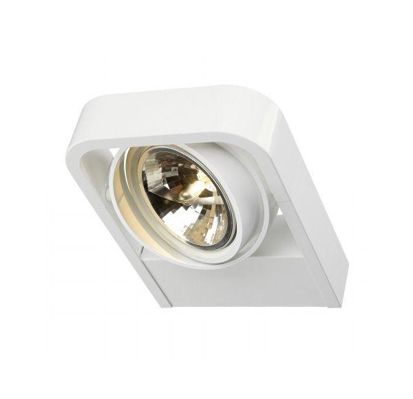 AIXLIGHT R2 QRB111, wand armatuur, half rond, wit, QRB111, max. 1x 50W