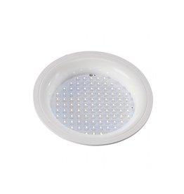 LEDPANEL ROND, inbouw armatuur, wit, 8W,witte LED