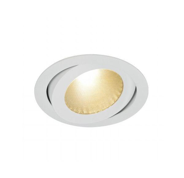 BOOST B TURNO, inbouwspot, richtbaar, rond, wit, 13W LED, warmwit