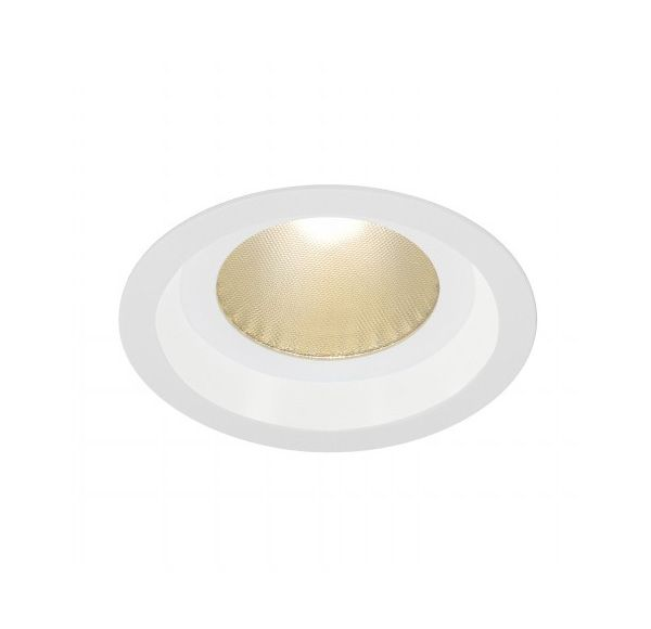 BOOST B IP44, inbouwspot, rond, wit, 13W LED, warmwit