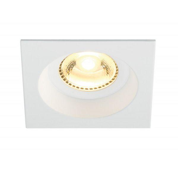 BOOST SQUARE IP44, inbouwspot, wit, 6W LED, 3000K