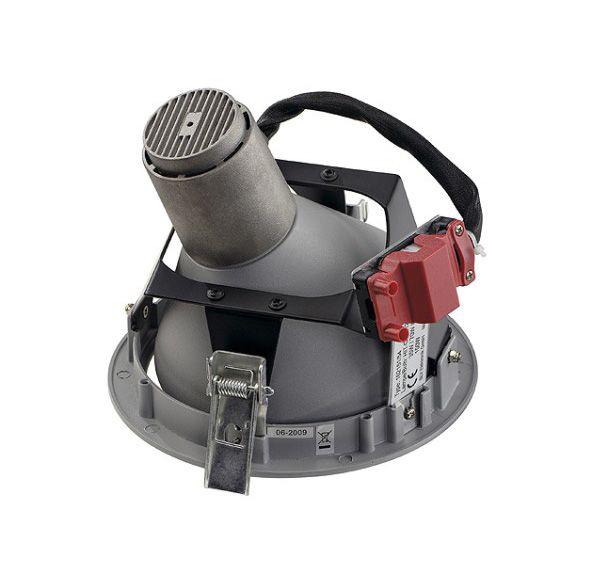 BERET G12 inbouwspot, zilvergrijs max. 150W