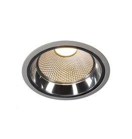 LED DOWNLIGHT PRO R, rond, zilvergrijs, 12W, incl. LED Disk module 800lm, 2700K