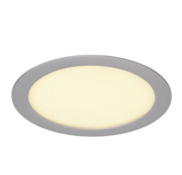 ECO LED PANEL ROND inbouwspot, ROND, zilvergrijs, 14W, 3000K