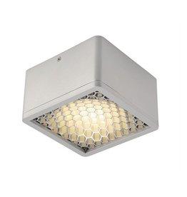 SKALUX COMP plafondlamp CL-1, vierkant, zilvergrijs, 3000K