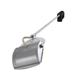 SKELETTO, display armatuur, zilvergrijs, R7s, max. 150W, incl. clamp en stekker