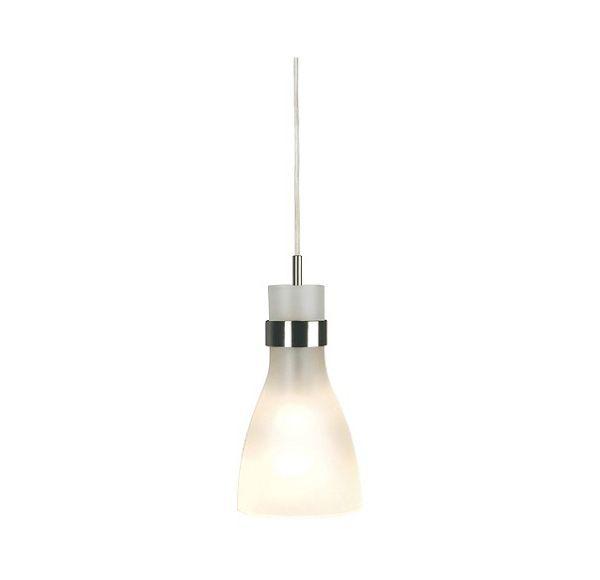 BIBA 3 pendel voor EASYTEC II, chroom, E14, max. 60W, gesatineerd glas