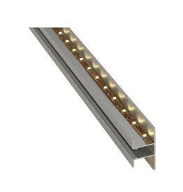 LED WANDPROFIEL UP/DOWN, alu geanodiseerd, 2m