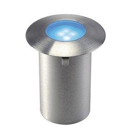 TRAIL-LITE, inbouw armatuur, inox 316, 4 LED, 0 ,3W, blauw