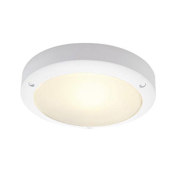 BULAN, plafond armatuur, rond, wit, E14, max. 11W, gesatineerd glas