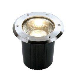 DASAR 215 UNI, grondspot, rond, inox 316, E27, max. 80W, IP67