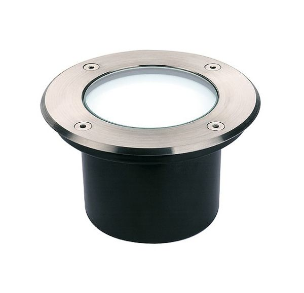 DASAR 115 LED, inbouw grondspot, inox 316, 6W, wit, IP67