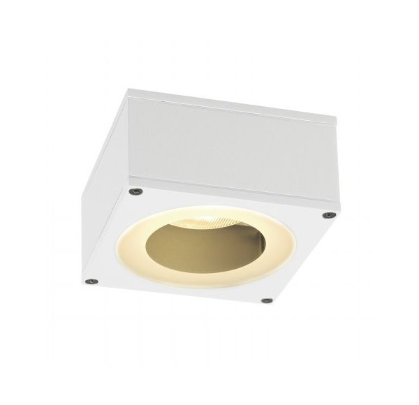 BIG THEO CEILING OUT GX53, plafond armatuur, vierkant, wit, max. 11W