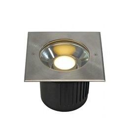 DASAR MODULE LED, inbouw spot, vierkant, inox voor Philips LED Twistable module
