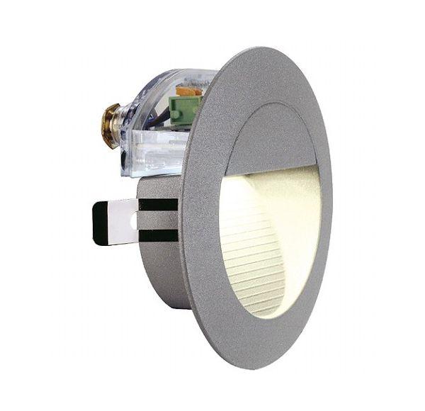 DOWNUNDER LED 14, wand armatuur, steengrijs, 0,8W, warmwit, IP44