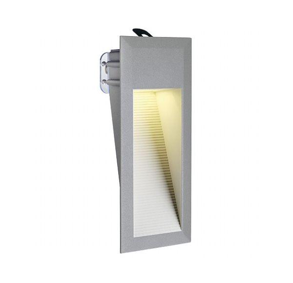 DOWNUNDER LED 15, wand armatuur, steengrijs, 0,9W, warmwit, IP44