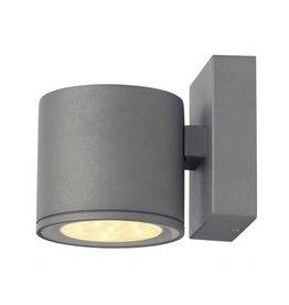 SITRA 6x1W LED, wand armatuur, zilvergrijs, 3000K, IP44