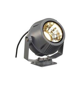 FLAC BEAM LED spot, steengrijs, met Philips DLMi module 1100lm, 3000K