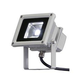 LED OUTDOOR BEAM, zilvergrijs, 10W, wit, 100°, IP65