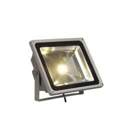 LED OUTDOOR BEAM, zilvergrijs, 50W, warmwit, 100°, IP65