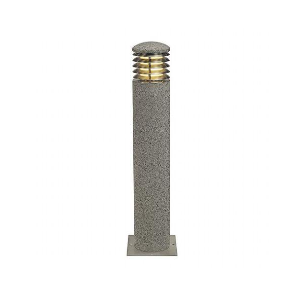 ARROCK GRANIET 70 ROND, graniet, zout & peper, E27, max. 15W