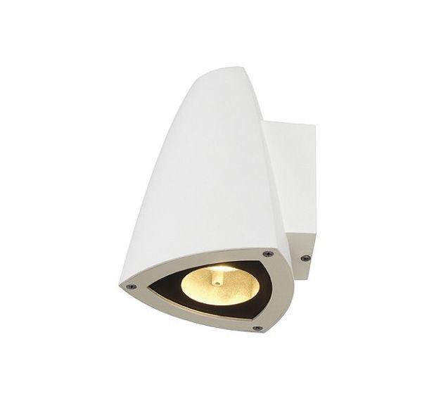 CONE GU10, wand armatuur, wit, max. 50W, IP44