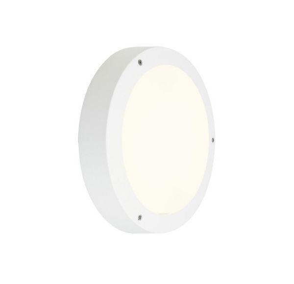 DRAGAN SENSOR wand en plafondlamp, wit, E27, max. 2x24W, IP44, met sensor