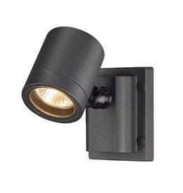 NEW MYRA wandlamp, antraciet, GU10, max. 50W, IP55