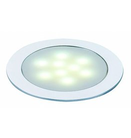 LED SLIM LIGHT inbouw armatuur, alu geanodiseerd, 0,5W, warmwit