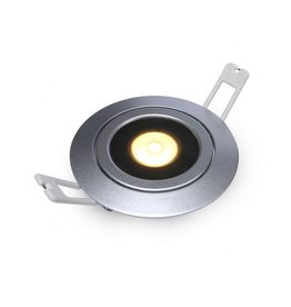 Downlight Flexo-R Silver 10W 2700K IP54