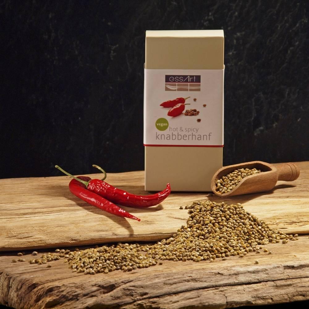 Knabberhanf hot&spice