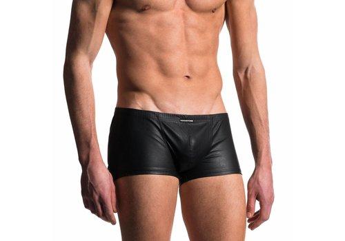 Manstore Korte boxer Leder Look <zwart> - Manstore M104