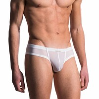 Push Up Cheeky Brief <wit>