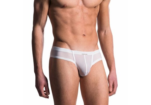 Manstore Cheeky Brief <wit> - Manstore 101*