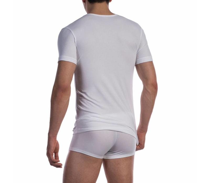 T-shirt katoen classic <wit>