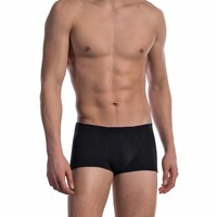 Korte boxershort katoen (3 pack) <zwart>