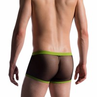 Push Up Bungee Boxer (doorzichtig) <zwart>