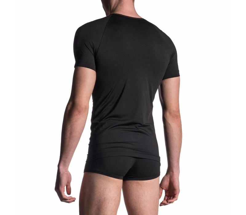 M200 - V-shirt <zwart>