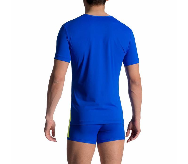 T-Shirt <blauw/groen>