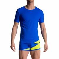 T-Shirt <blauw/neon>