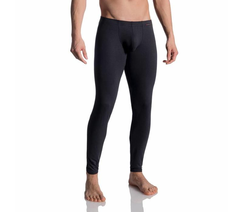 Lange onderbroek (katoen) <zwart>