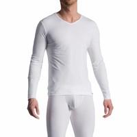 Long Shirt (katoen) <wit>