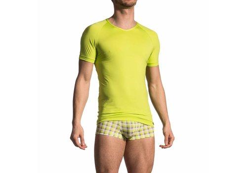 Olaf Benz  V-shirt <geel/groen> - Olaf Benz 1702