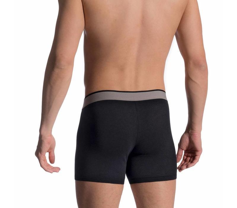 Boxerpants (2 pack) <zwart>