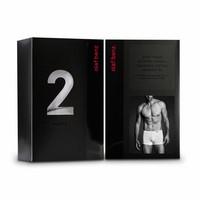 Boxershort katoen (2 pack)  <zwart>