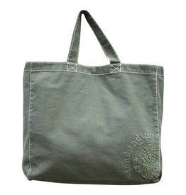 Blond Indians Tote Bag Army Green