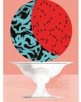 TUTTI FRUTTI WATERMELON - Premium Poster