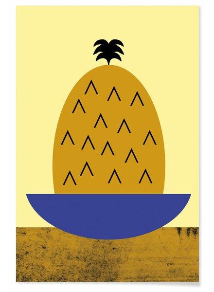 TUTTI FRUTTI PINEAPPLE - Premium Poster