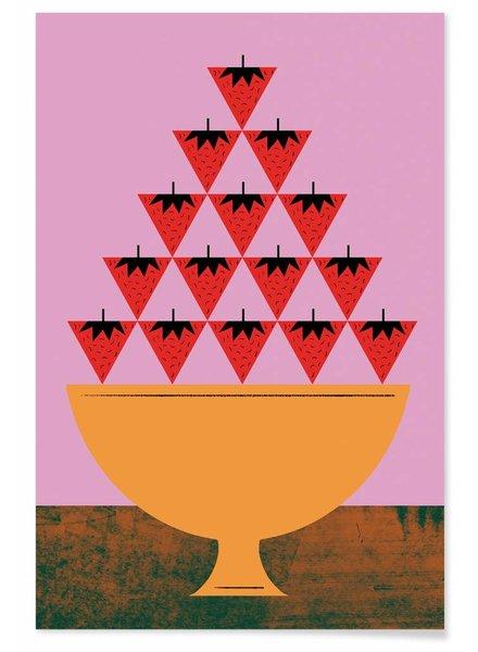 TUTTI FRUTTI STRAWBERRY - Premium Poster